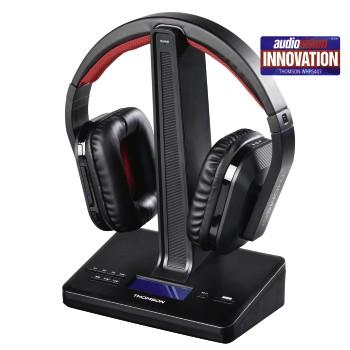 thomson whp3001bk wireless headphones user manual